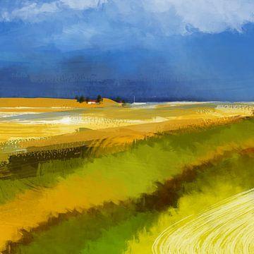 prairie côtière sur Andreas Wemmje