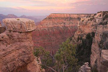 Grand Canyon bij avondlicht van Hein Mattijn Schouwenaars
