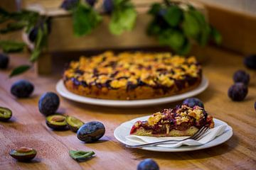 Gâteau aux prunes sur Sergej Nickel