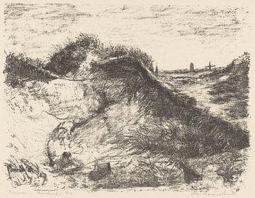 Ameland, Dünen, Otto Hanrath, 1925 von Atelier Liesjes
