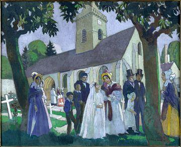 Die Erstkommunion von Leopoldine in Fourqueux, Maurice Denis, 1933 von Atelier Liesjes