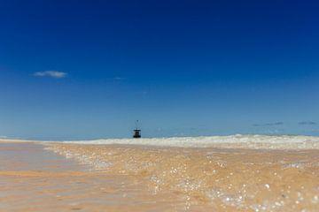 Verlassener Strand in Corumbau | Brasilien von Vandaag is nu