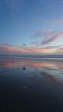 Sonnenuntergang, Los Angeles, Amerika von Joost Jongeneel
