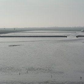 Waddenzee bij Holwerd van Herry Vos
