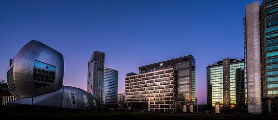 Zonsondergang op Amsterdam Arena kantorenpark - Deel 1