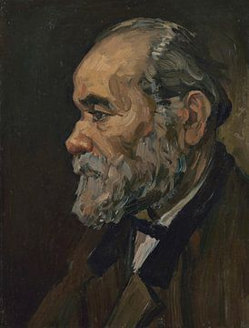 Portrait d'un vieil homme à la barbe, Vincent van Gogh sur