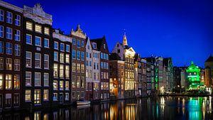 Amsterdam Damrak.  van