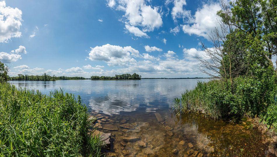 Panorama van de Wijde Blik vlakbij Ottenhome, Kortenhoef, Wijdemeren, Nederland van Martin Stevens