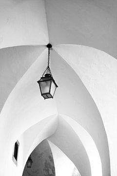 Hangende lamp van Nynke Altenburg