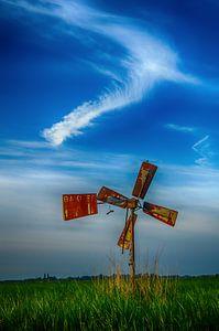Windveren en windmolen van