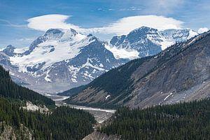 Rivier in The Rockies