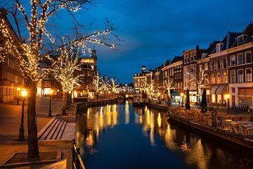 Blue Hour Leiden von Eric van den Bandt