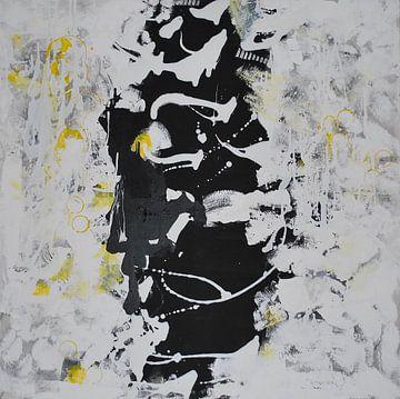 Wandbild Schwarz Weiß von Klaus Heidecker
