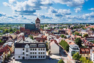 View to Rostock, Germany van Rico Ködder