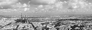 Uizicht over Parijs