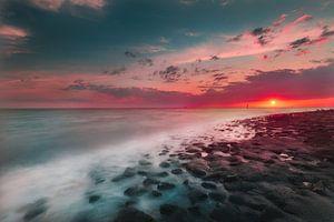 Westkapelle sunset van