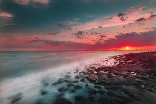 Westkapelle sunset van Andy Troy
