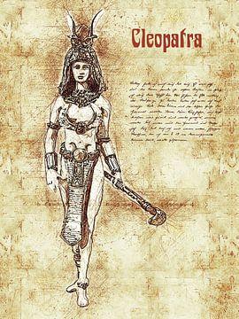 Cleopatra van Printed Artings
