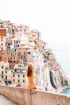 Italië, een mooie dag in het kleurrijke Cinque Terre van Dymphe Mensink