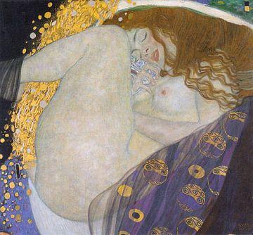 Gustav Klimt. Danae sur