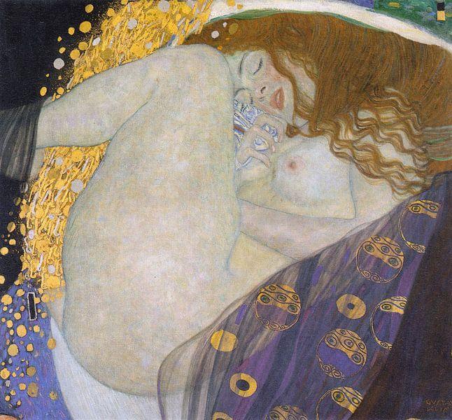 Gustav Klimt. Danae von 1000 Schilderijen