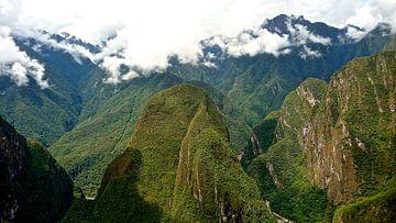 'Andes gebergte', Peru van Martine Joanne