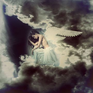 Trauriger Engel von Karin Schwarzgruber