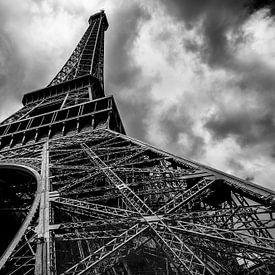 Tour Eiffel à paris sur Michael Bollen