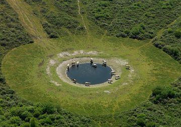 Trinkbrunnen an der Veermansplaat im Grevelingenmeer von Sky Pictures Fotografie
