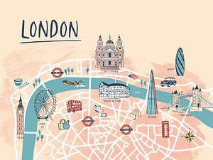 Londoner Stadtplan