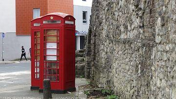 Een britse telefooncel van
