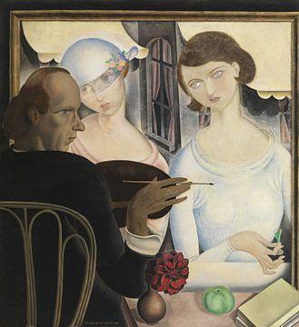 Die Likörtrinker, Gustave Van de Woestyne