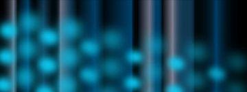 Blaue, abstrakte Geometrie von Ina Fischer