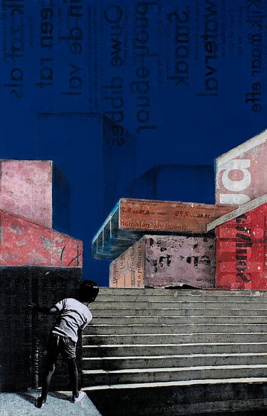 THE BLUE BUILDINGS van db Waterman