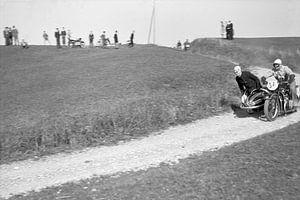 1937 - BMW zijspan motor race