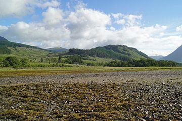 Farbenfrohes Glen Etive in Schottland. von Babetts Bildergalerie