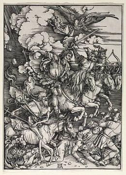 De vier ruiters van de Apocalypse, Albrecht Dürer van De Canon