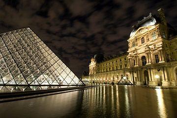Musée du Louvre oud en nieuw van Björn Massuger