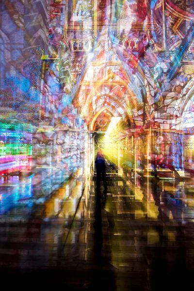 Beweging tijdens Glow Eindhoven van René van der Horst