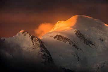 Mont Blanc, Sonnenaufgang von Alpine Photographer