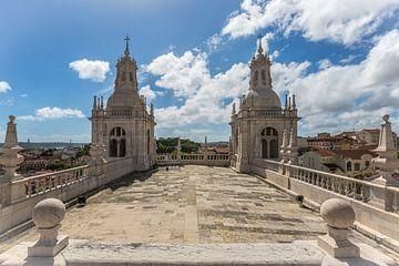 Das Kloster São Vicente de Fora in Lissabon in Portugal von MS Fotografie | Marc van der Stelt