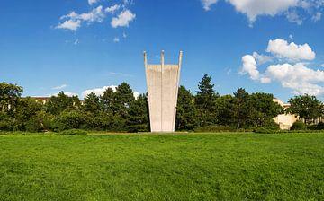 Monument du pont aérien (Hungerharke) à Berlin sur Frank Herrmann