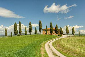 Maison de campagne près de Pienza en Toscane sur Michael Valjak