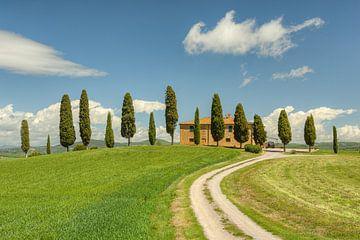 Landhaus bei Pienza in der Toskana von Michael Valjak