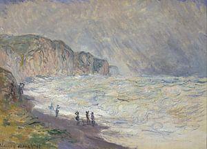 Schweres Meer in Pourville, Claude Monet