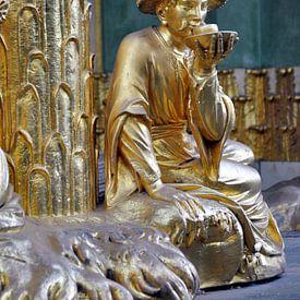 Theeceremonie in het Chinese huis in Potsdam Sanssouci van Silva Wischeropp