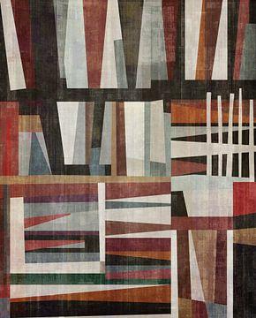 Abstracte samenstelling 1215 van Angel Estevez