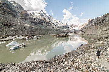 Gletsjer Grossglockner Oostenrijk van Mark den Boer