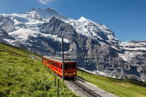 Jungfraubahn von Bart van Dinten