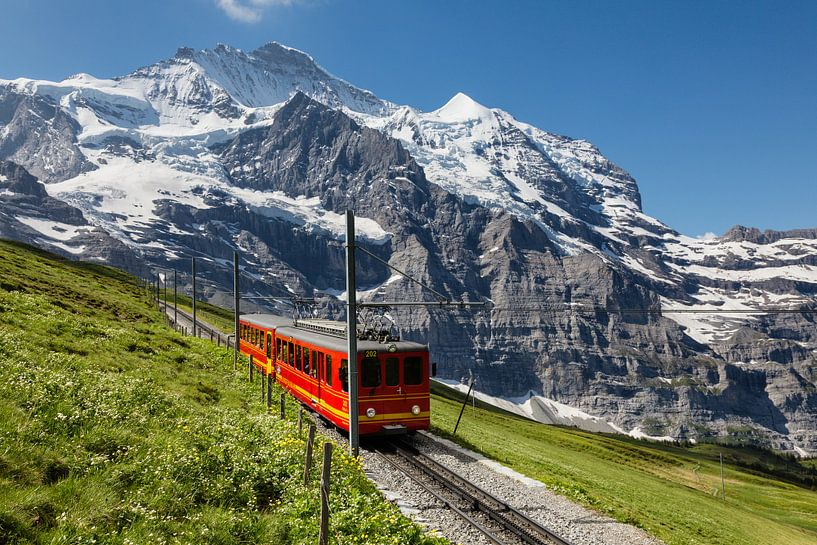 Jungfraubahn van Bart van Dinten